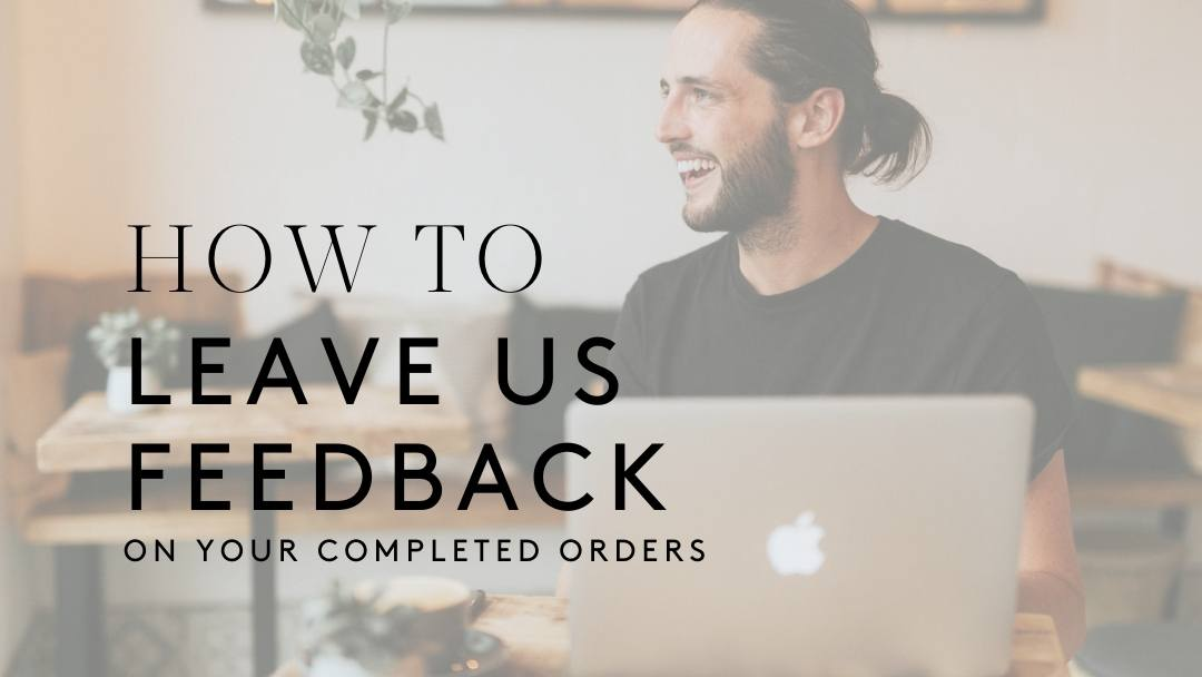 How To Leave Feedback