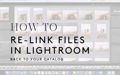 How to Relink Your Files in Lightroom